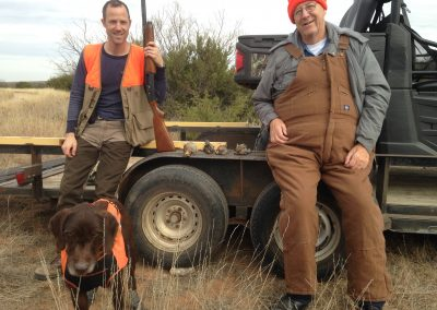 Dec. of 2016 with my dad and brother on public land in OK