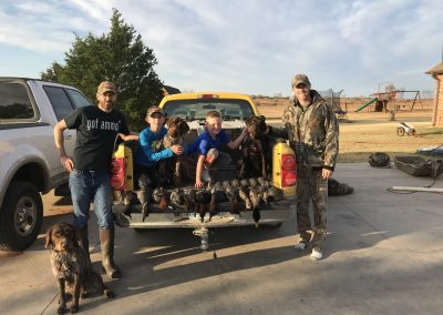 Nov. 18th of 2017. 2 two man limits. The Red Heads started coming and didn't stop that day. My son and my friend's son came with us as usual. It was a hunt we will not forget.